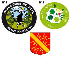 Realisation d 39 insignes badges pour le scoutisme - Machine pour faire des badges ...